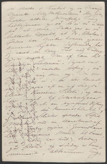Brev fra Grieg til Beyer 1887-1888