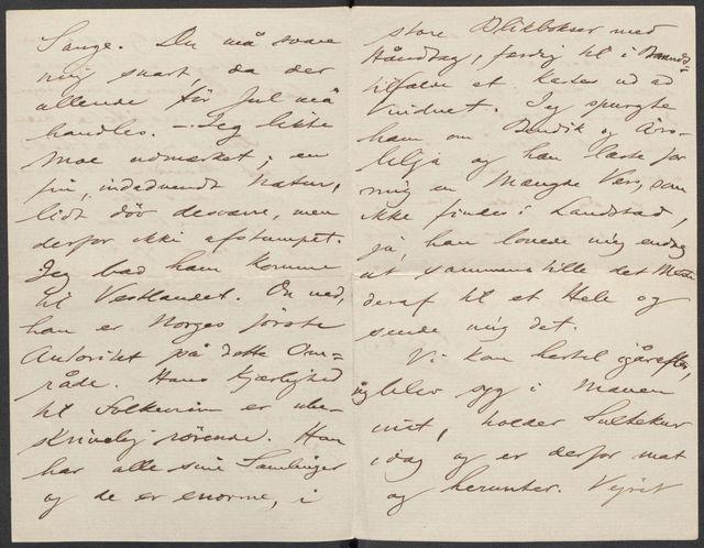 Brev fra Grieg til Beyer 1889-1890