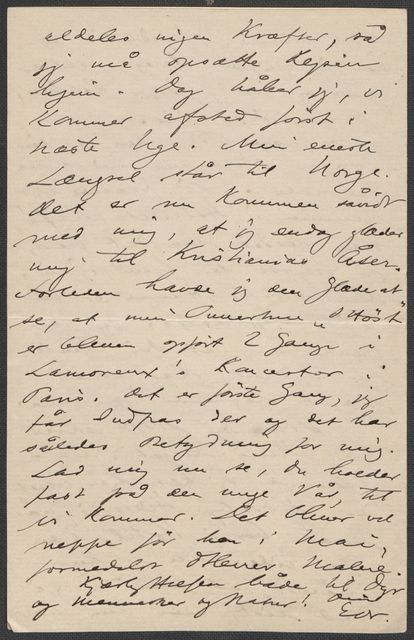 Brev fra Grieg til Beyer 1891-1892