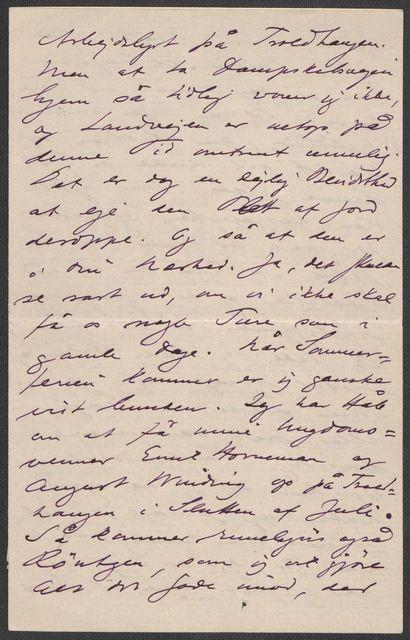 Brev fra Grieg til Beyer 1895-1896
