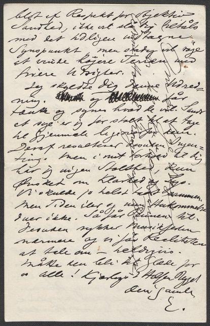 Brev fra Grieg til Beyer 1897-1898