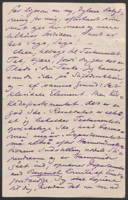 Brev fra Grieg til Beyer 1899-1900