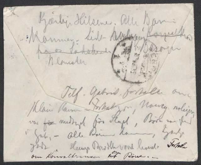 Brev fra Grieg til Beyer 1905