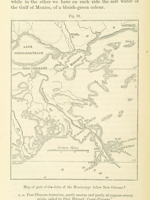 """map from """"[Principles of Geology ... Reprinted from the sixth English edition, etc.]"""""""