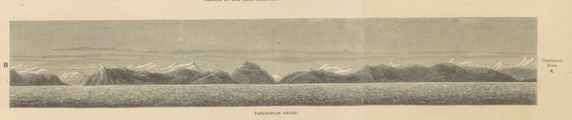 """coast from """"Two Years in Peru, with exploration of its antiquities ... With map by D. Barrera; and ... illustrations"""""""