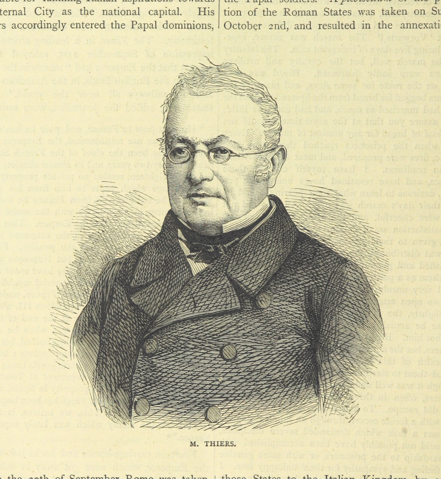 """French politician and historian from """"[Cassell's Illustrated History of the War between France and Germany, 1870-1871.]"""""""