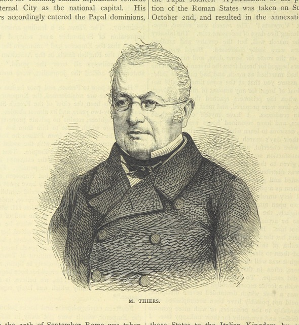 "French politician and historian from ""[Cassell's Illustrated History of the War between France and Germany, 1870-1871.]"""