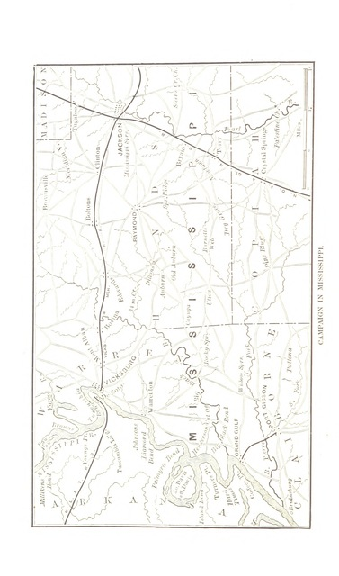 """map from """"Narrative of Military Operations directed, during the late war between the States, by J. E. Johnston ... Illustrated, etc"""""""