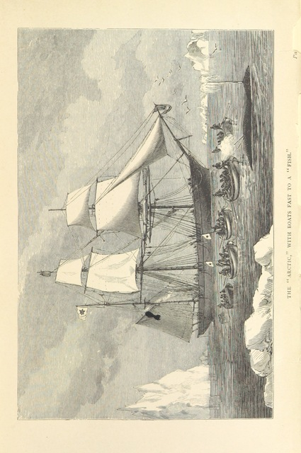 """ship from """"A Whaling Cruise to Baffin's Bay and the Gulf of Boothia. And an account of the rescue of the crew of the """"Polaris."""" ... With an introduction by ... S. Osborn, etc"""""""