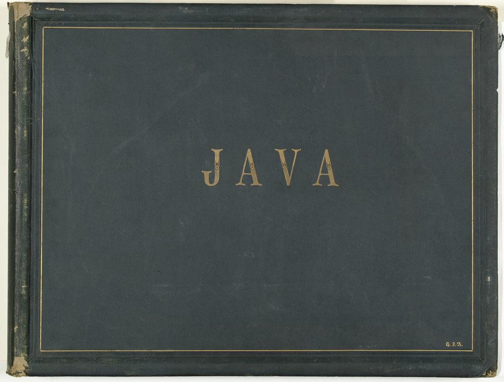 Album Ankersmit II / Van Kinsbergen met foto's van monumenten van Java