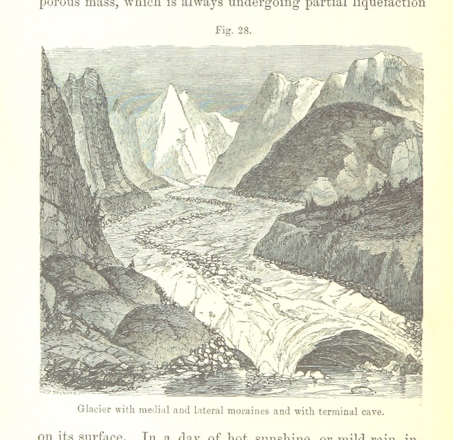 """engraving from """"[Principles of Geology ... Reprinted from the sixth English edition, etc.]"""""""