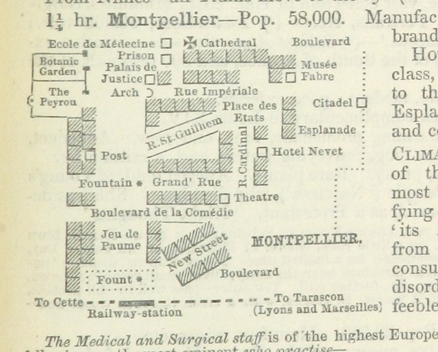 """map from """"Practical general Continental Guide ... Part I. ... Special edition Anglo-American. 1875 (76, 78, 80, 83, 84)"""""""