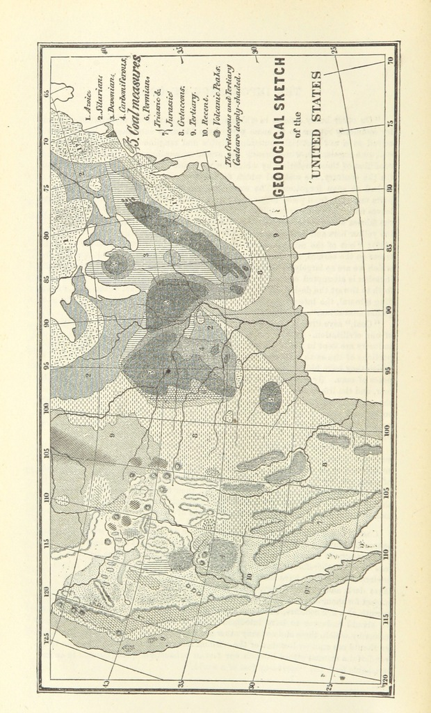 """map from """"[The Coal-Regions of America; their topography, geology and development. With a colored geological map of Pennsylvania ... and numerous other maps and illustrations.]"""""""