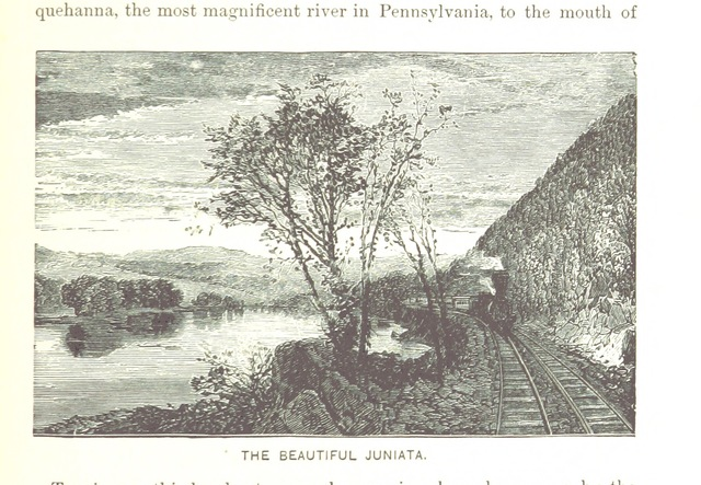 """Pennsylvania Railroad from """"[Popular Resorts and how to reach them, etc. (Second edition.)]"""""""