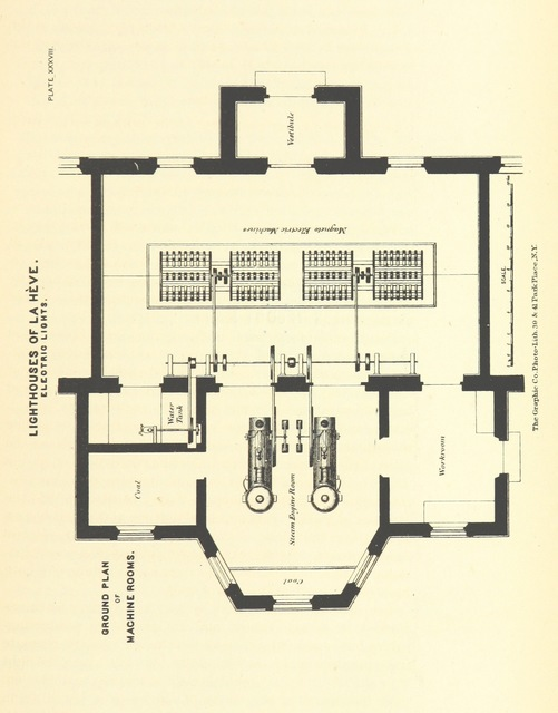 """scanned image from """"European Light-House Systems; being a report of a tour of inspection made in 1873 ... illustrated, etc"""""""