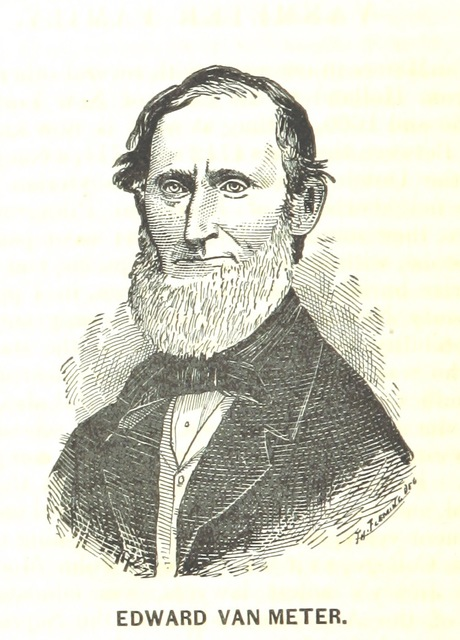 "Edward Van Meter from ""History and Genealogy of Fenwick's Colony"""