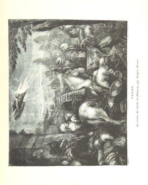 """Venice from """"Amsterdam et Venise. Ouvrage enrichi de sept eauxfortes par MM. L. Flameng et Gaucherel, et de cent vingt-quatre gravures sur bois"""""""