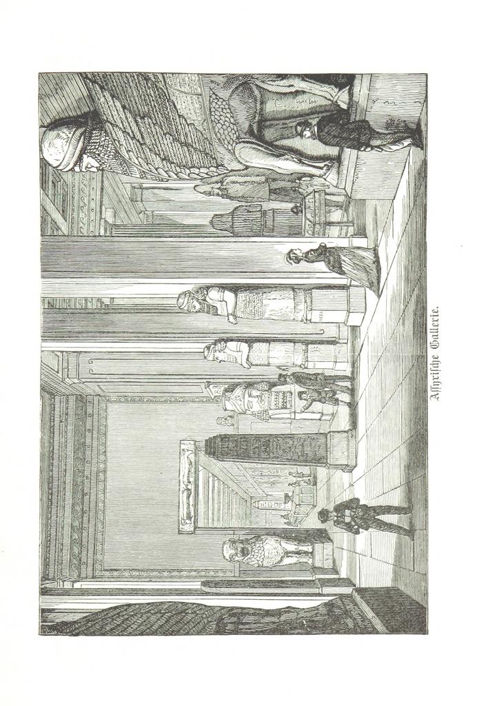 """British Museum from """"Zehn Bilder aus Süd-England oder: Wanderungen und Betrachtungen eines Katholiken, etc. [Illustrated.]"""""""
