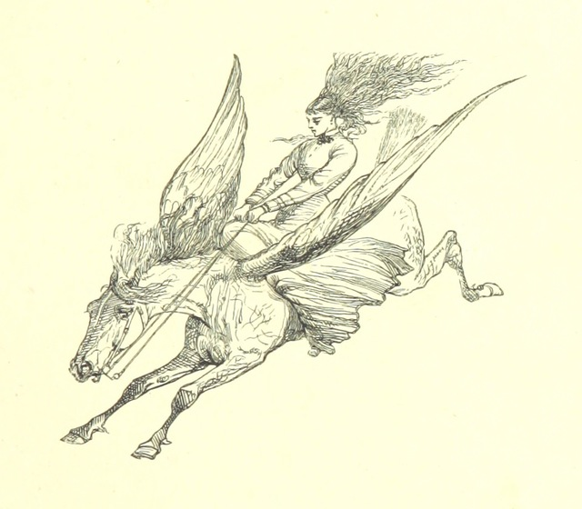 "fantasy from ""Pegasus re-saddled. ... With ... illustrations by Du Maurier"""