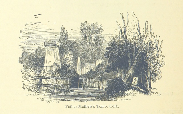 """Father Mathew's Tomb, Cork from """"A History of the Irish Nation, etc. [With plates.]"""""""