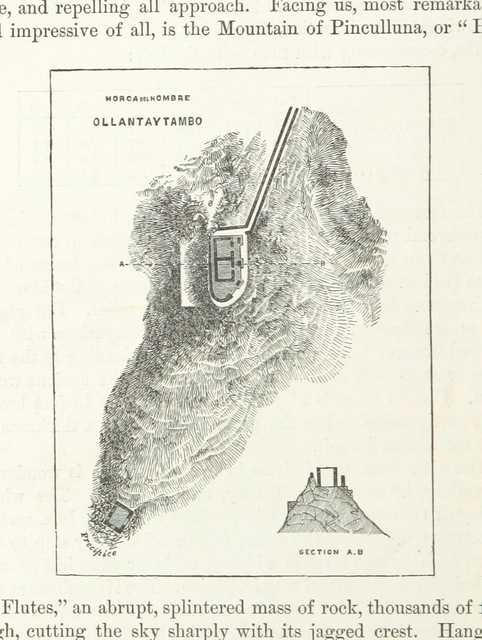 """map from """"Peru: incidents of ravel and exploration in the Land of the Incas. ... With illustrations"""""""