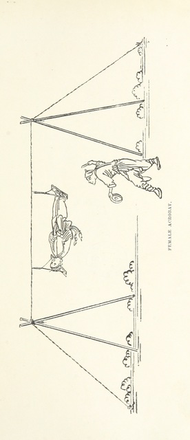 """Female Acrobat from """"China: a history of the laws, manners, and customs of the people. ... Edited by W. G. Gregor. With ... illustrations"""""""
