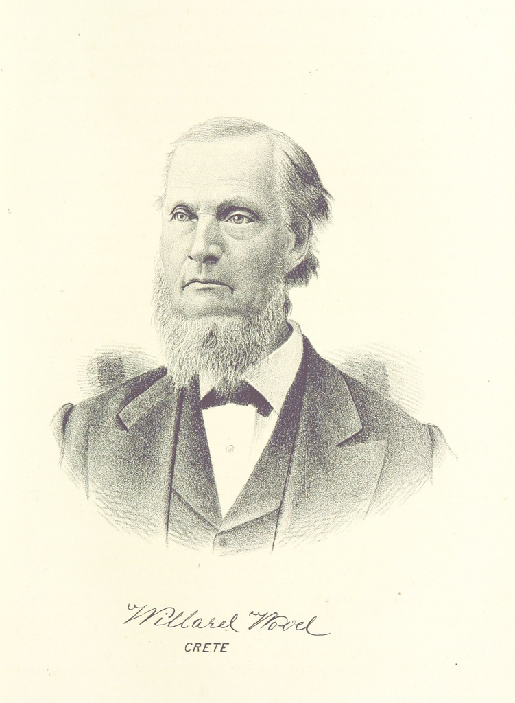"""Portrait from """"The history of Will County, Illinois, containing a history of the County [by G. H. Woodruff], its Cities, Towns, etc. [by W. H. Perrin and H. H. Hill]. ... Illustrated"""""""