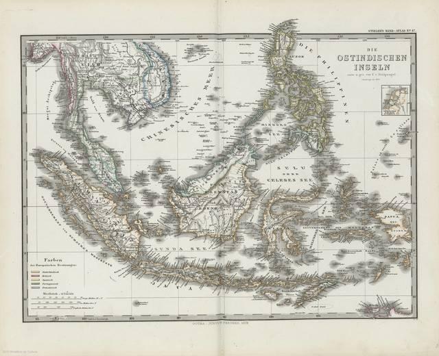 Die Ostindischen Inseln : [generalkarte]