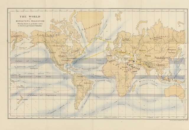 """map from """"The Migration from Shinar; or the earliest links between the Old and the New Continents"""""""