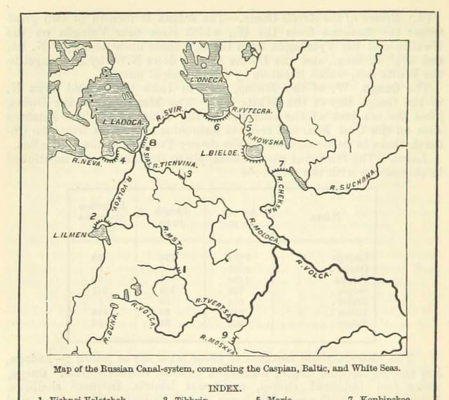 "map from ""[The Student's Manual of Modern Geography. Mathematical, physical, and descriptive.]"""
