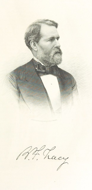 """portrait from """"History of Toga, Chemung, Tompkins, and Schuyler Counties, New York. With illustrations and biographical sketches of some of its prominent men and pioneers"""""""