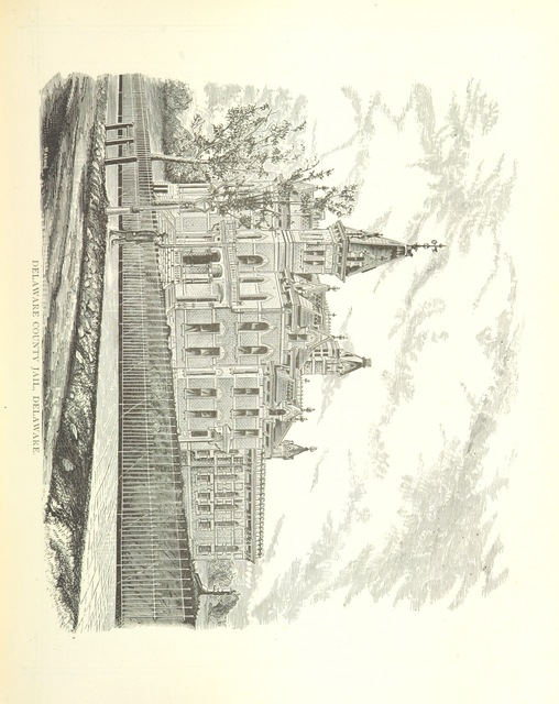 "Delaware County Jail from ""History of Delaware County and Ohio. Containing ... biographical sketches, ... etc. Illustrated"""