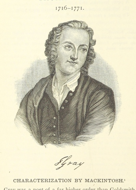 """English poet from """"Masterpieces of English Literature, being typical selections of British and American authorship ... Together with notes, analyses and glossary ... By W. Swinton ... With portraits"""""""