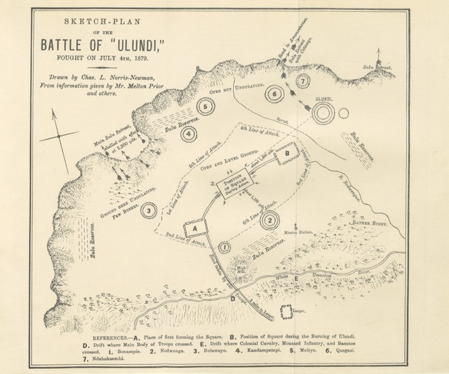 "map from ""In Zululand with the British throughout the War of 1879"""