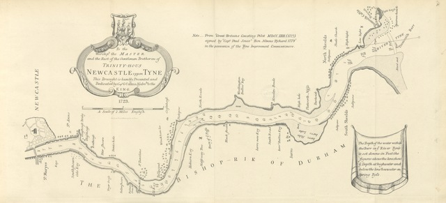 "map from ""The River Tyne: its history and resources ... Illustrated"""
