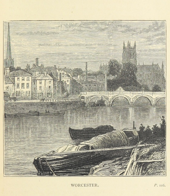 """bridge from """"The Forty Shires: their history, scenery, arts, and legends. ... With ... illustrations"""""""