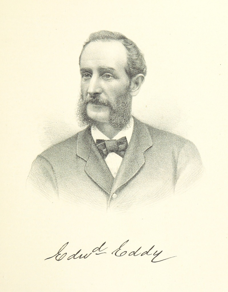 """Edward Eddy from """"History of Arkansas Valley, Colorado. [By W. B. Vickers and others.] Illustrated"""""""