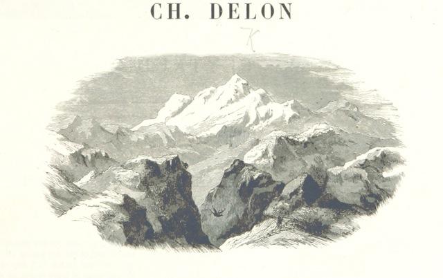 """engraving from """"Cent tableaux de géographie pittoresque, avec une introduction topographique"""""""