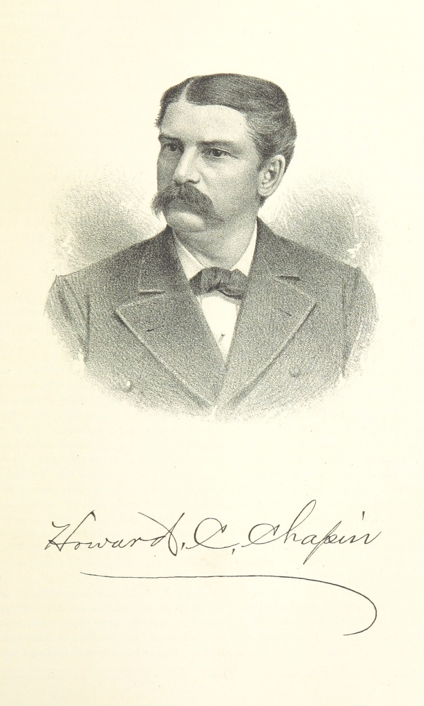 """Howard C. Chapin from """"History of Arkansas Valley, Colorado. [By W. B. Vickers and others.] Illustrated"""""""