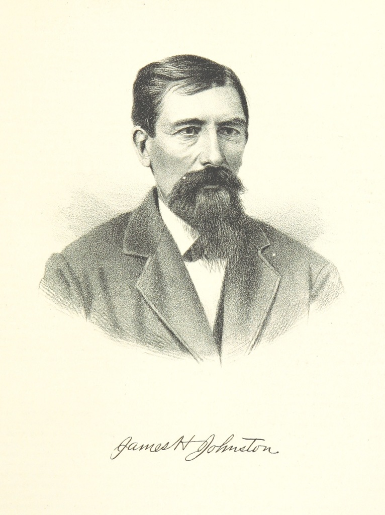"James H. Johnston from ""History of Arkansas Valley, Colorado. [By W. B. Vickers and others.] Illustrated"""
