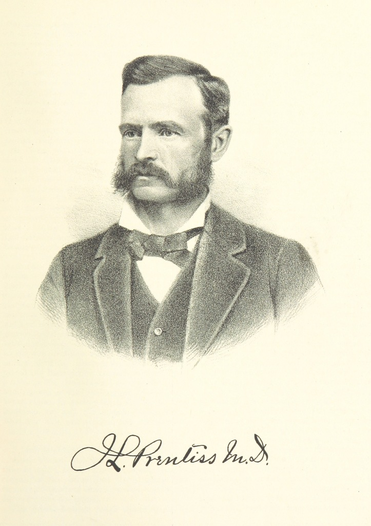 """J.L. Prentiss, M.D. from """"History of Arkansas Valley, Colorado. [By W. B. Vickers and others.] Illustrated"""""""