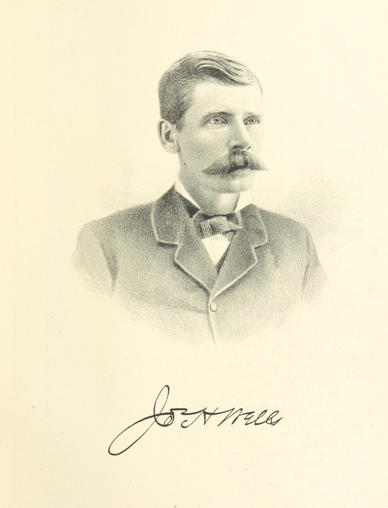 """Joseph H. Wells from """"History of Arkansas Valley, Colorado. [By W. B. Vickers and others.] Illustrated"""""""