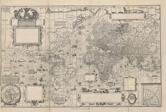 """map from """"Inventio fortunata. Arctic exploration. With an account of Nicholas of Lynn. Read before the American Geographical Society ... May 15th, 1880. Reprinted from the Bulletin of the Society"""""""