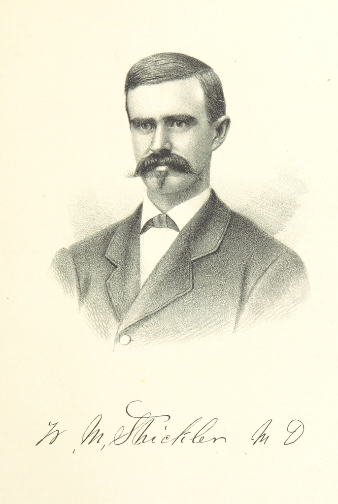 """portrait from """"History of Arkansas Valley, Colorado. [By W. B. Vickers and others.] Illustrated"""""""