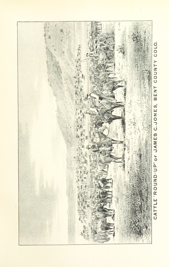 "roundup from ""History of Arkansas Valley, Colorado. [By W. B. Vickers and others.] Illustrated"""