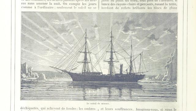 """ship from """"Cent tableaux de géographie pittoresque, avec une introduction topographique"""""""