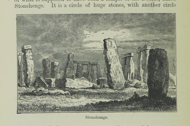 "Stonehenge from ""Great Britain for Little Britons. A book for children, etc"""