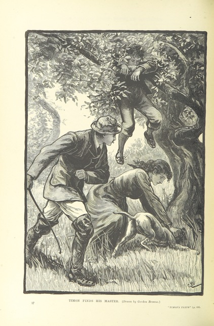 """Boy from """"Gleanings from Popular Authors grave and gay. [In prose and verse.] Illustrated"""""""