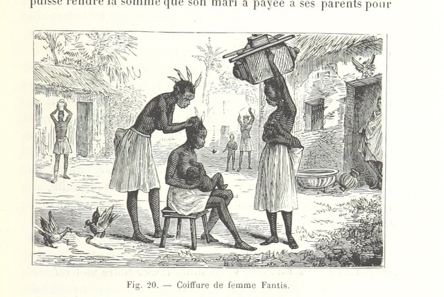 """breastfeeding from """"Les Races sauvages ... Avec 115 gravures, dont huit planches hors texte"""""""