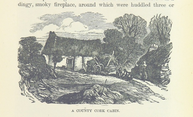 """cottage from """"Nasby in Exile: or, six months of travel in England, ... France, Germany ... Illustrated"""""""